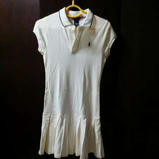 Auth Ralph Lauren Polo Dress