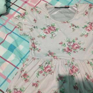 Pink Flower Baby Doll