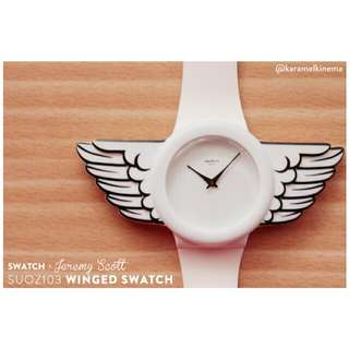 SWATCH by Jeremy Scott - White Wings - Jam Tangan