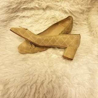 👠💖【全新】猄皮女庄鞋 Size 38 (現$260)