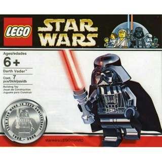 LEGO 4547551 Chrome Darth Vader