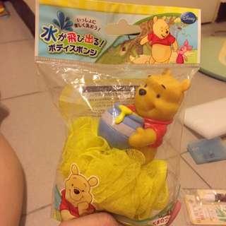 維尼沐浴球水玩具(日本帶回含運)