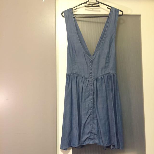 少女十七歲可愛吊帶裙