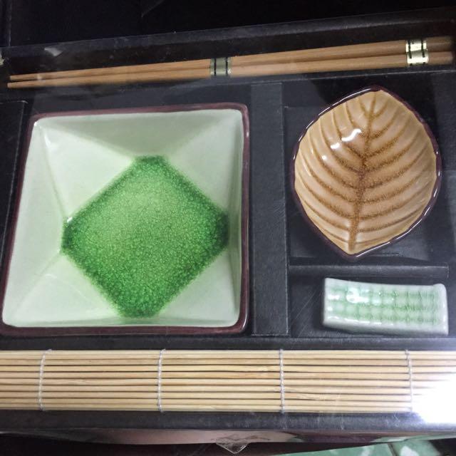 日式和風涼麵/沾麵餐具組
