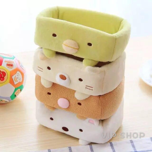 💖預購💖日本原創角落生物桌上桌面置物盒/收納盒/飾品盒 四款可選