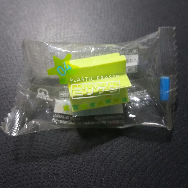 日本進口 多角橡皮擦 讓你有永遠用不完的尖角可以擦