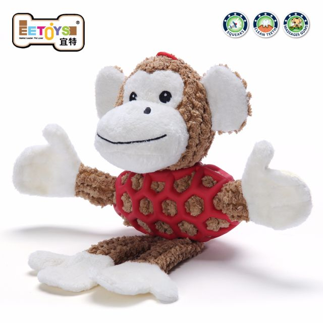 🐶 BabyPa。美國EETOYS宜特寵物卡通毛絨貓狗發聲玩具玩偶娃娃 特價 $300