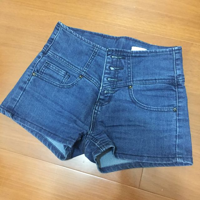 四排扣短褲 Sz:s