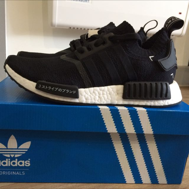 dbb742f394394 Adidas NMD R1 Japan Black PK US 7
