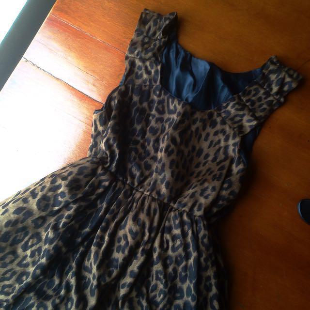 Animal Print - Mini Dress
