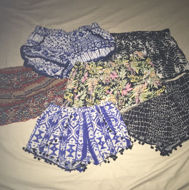 ASSORTED PATTEN SHORTS
