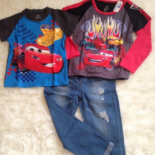 Baju Anak Setelan Mc Queen Mothercare