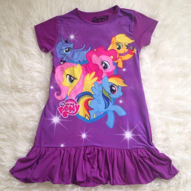 Baju Dress Anak Little Pony