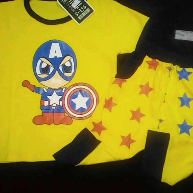 Baju Karakter Kapten Amerika