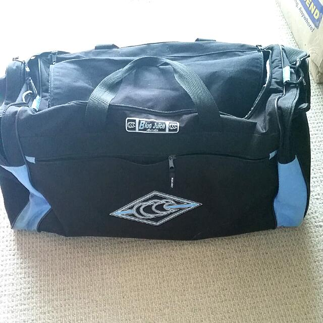 Blue Juice Duffle Bag