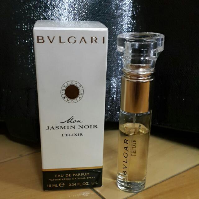 Bvlgari Mon Jasmin Noir 寶格麗 精華我的夜茉莉隨行香氛10ml