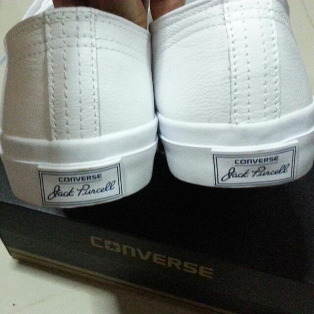 Converse White Leather Shoes /Jack Purcell