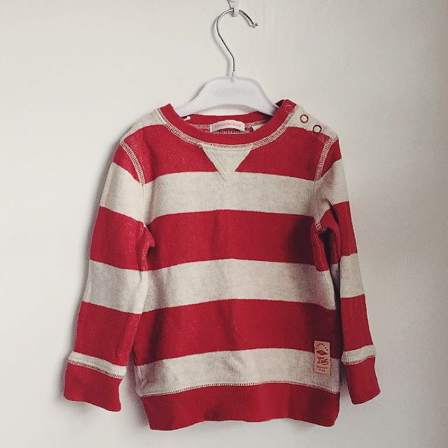 Country Road Stripe Sweater