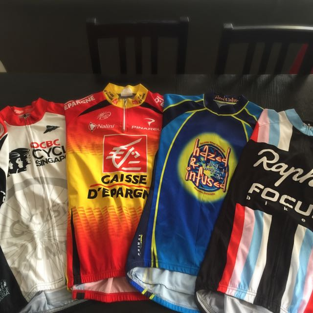 Cycling Jerseys (Bulk Set)