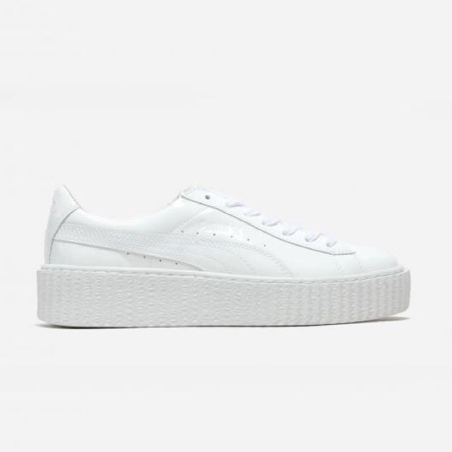 online retailer 638c4 3d08d FENTY BY RIHANNA X PUMA CREEPER WHITE