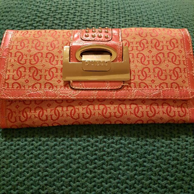 GUESS passport wallet