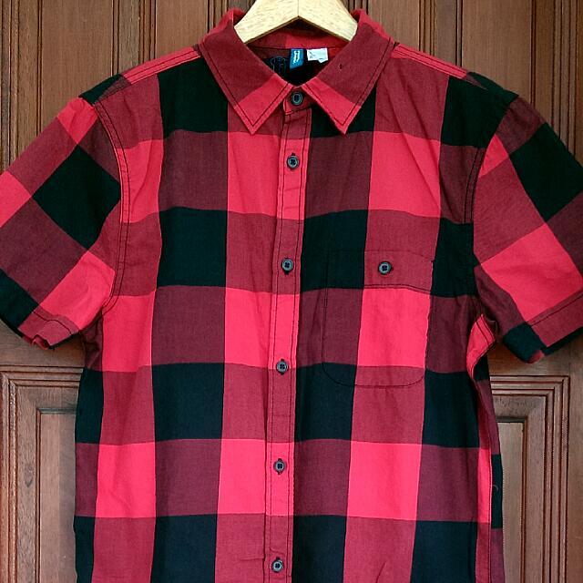 [RSVD] H&M Red Shirt
