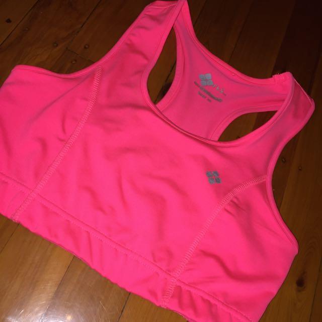 Hot Pink Sports Bra!