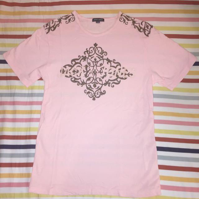 Jack & Jones T-Shirt Glitta Print Pink