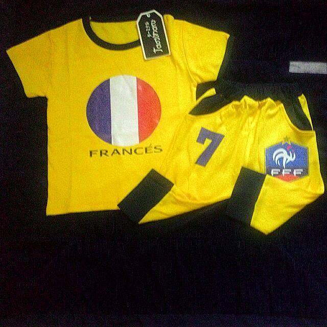 Jersey/ Baju BOLA France