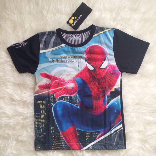 Kaos Anak Spiderman
