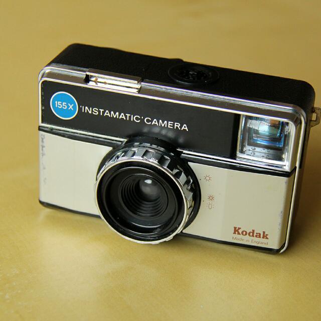 Kodak Instamatic 155X Vintage Camera