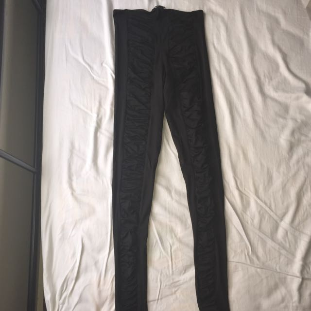 Kookai Black Leggings - Size 2