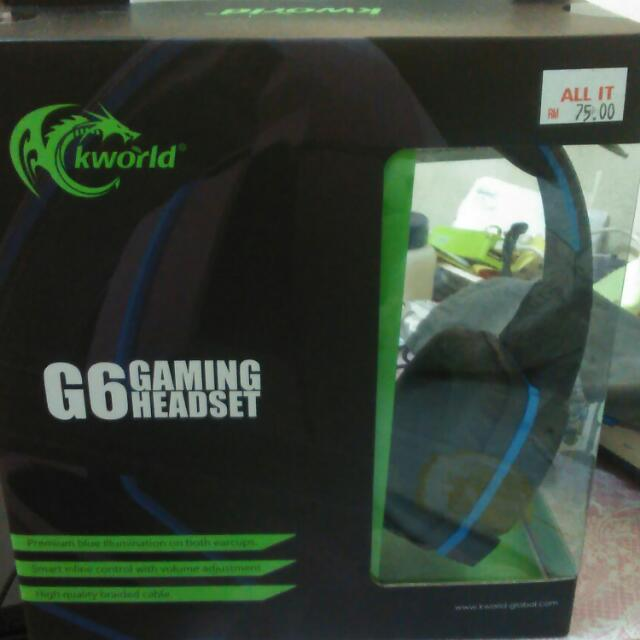 Kworld G6 Gaming Headset
