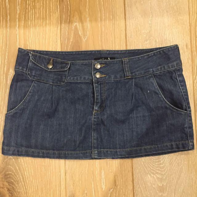 Mambo Denim Skirt Size 12