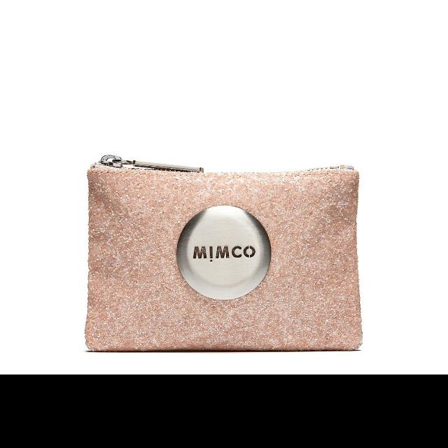 Mimco Dusty Pink Tiny Sparks Pouch