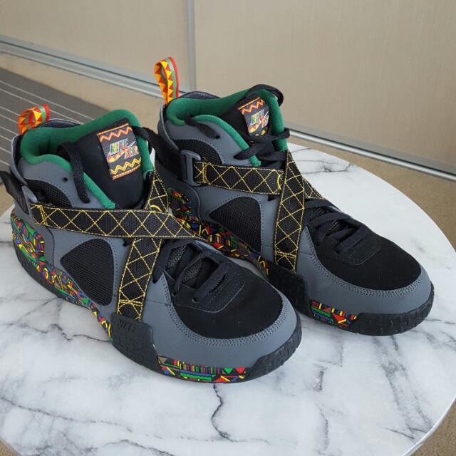 Nike Air Raid Rasta Styled Us Size 12