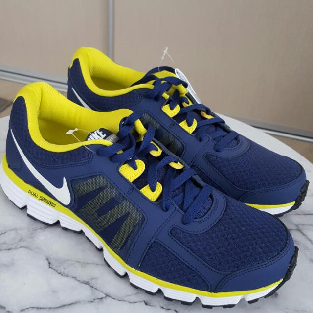 Nike Dual Fusion St2 Dark Navy + Yellow Size Us 12