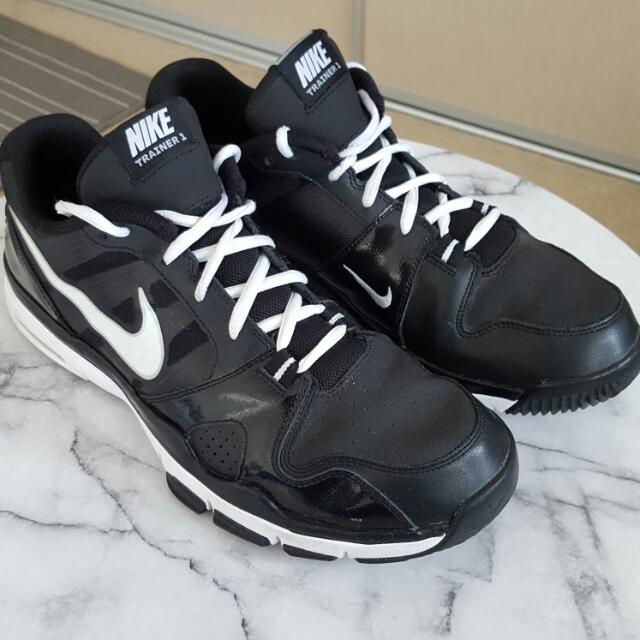 Nike Trainer 1 Black And White Us Size 12