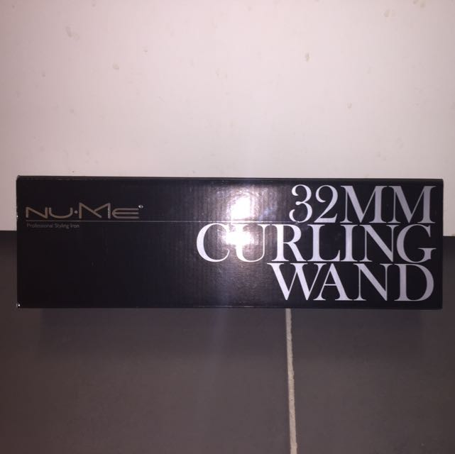 Nume 32mm Curling Wand - Black