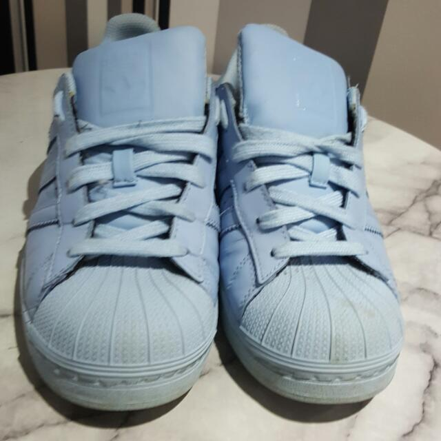 Pale Blue ADIDAS SUPERSTARS