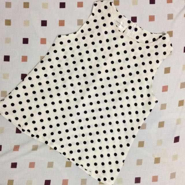 Polka Broken White