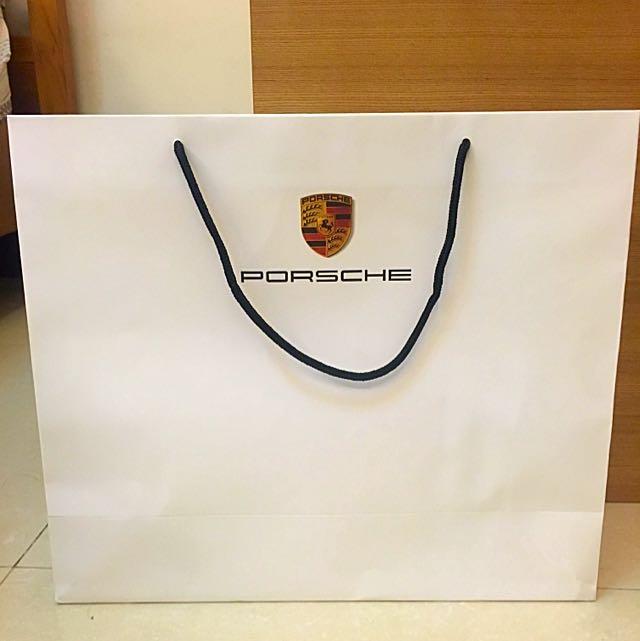 Porsche紙袋