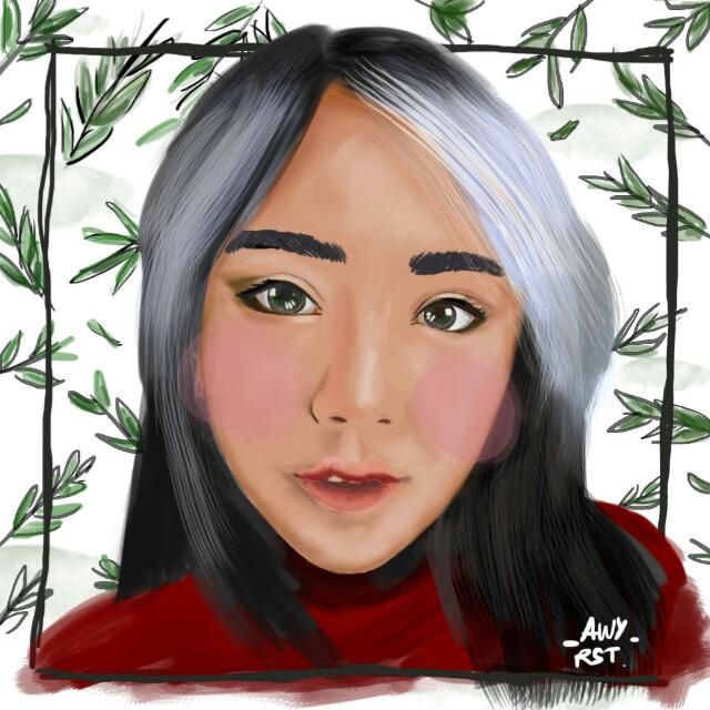 portrait illustration digital painting
