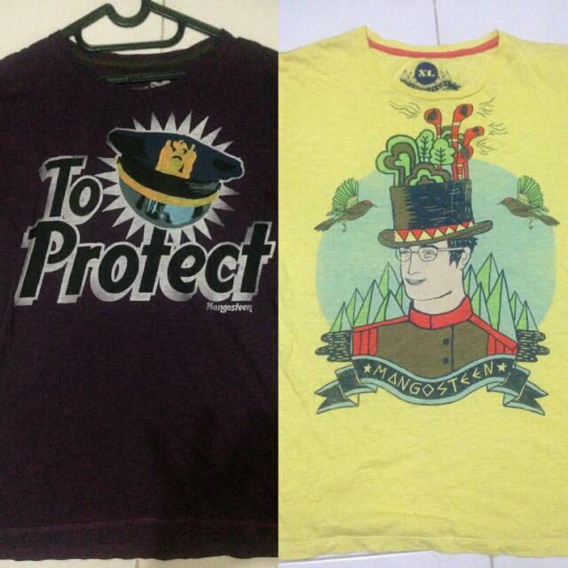 Preloved: Tshirt Mangosteen