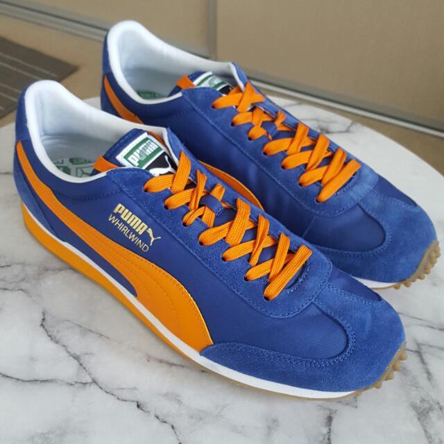 Puma Whirlwind Royal Blue + Orange Us Size 12