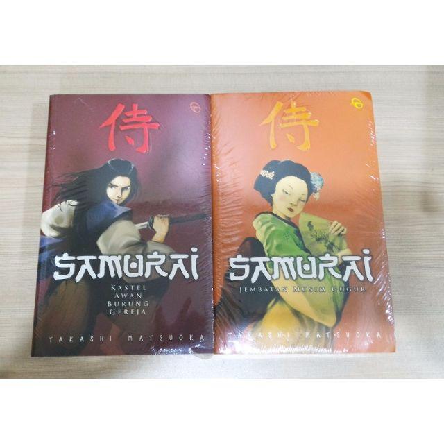 Samurai - Jembatan Musim Gugur - Kastel Awan Burung Gereja - Takashi Matsuoka