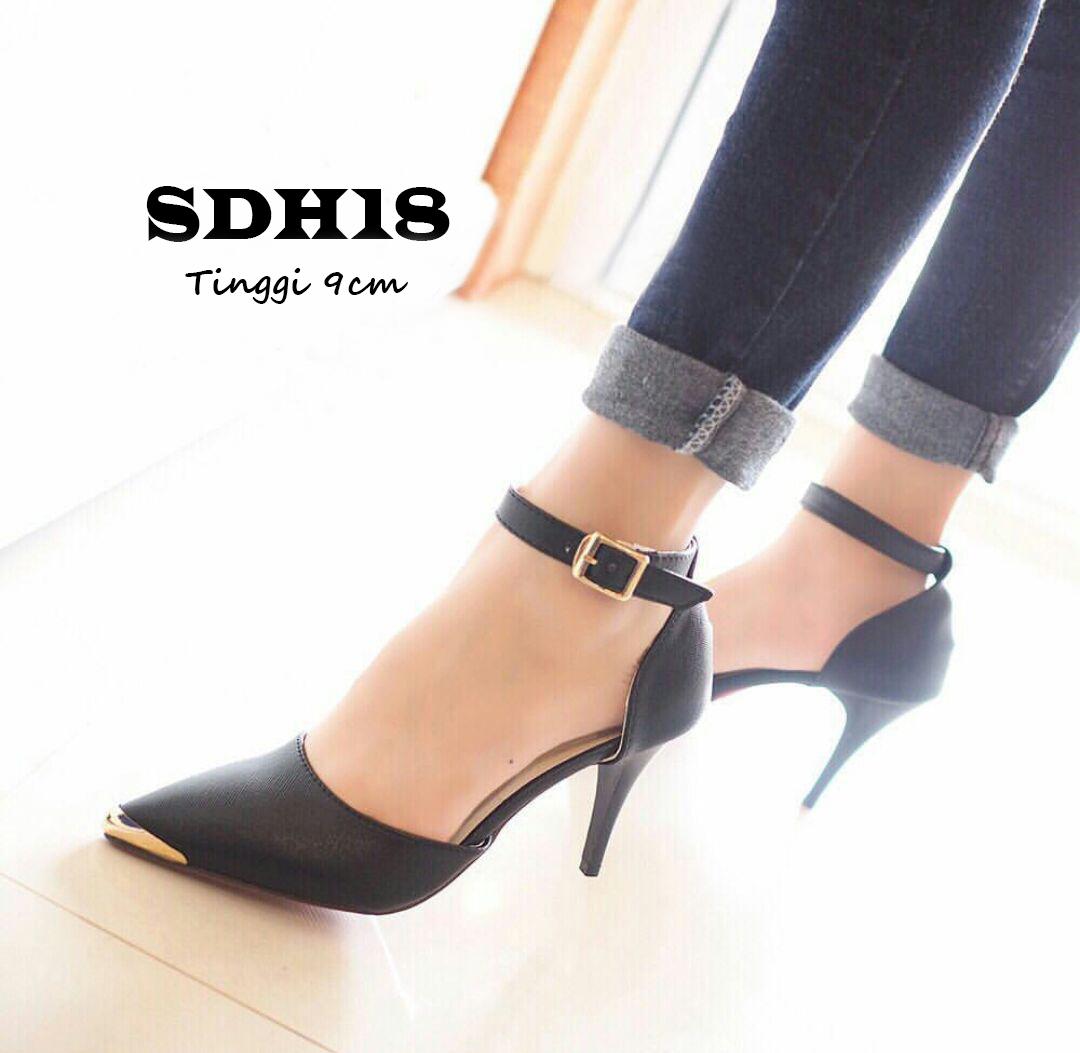 eef6105a284 Sandal High Heels Wanita Sepatu Sandal Wanita SDH18