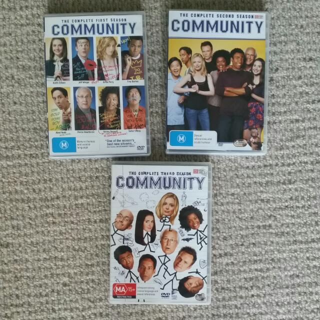 Seasons 1-3 of Community