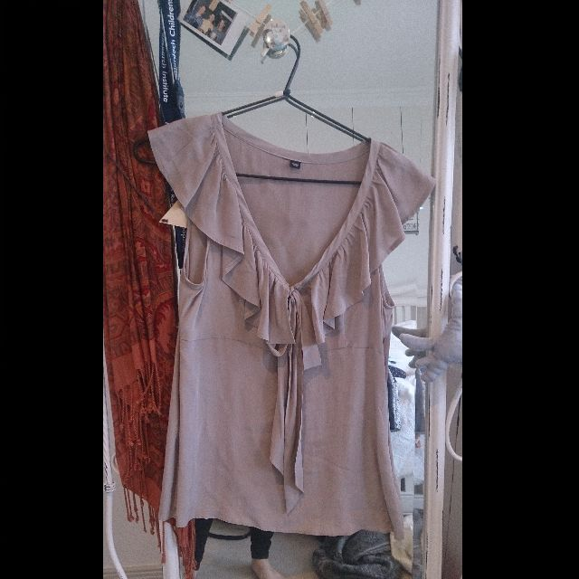 Silk Top - Mauve