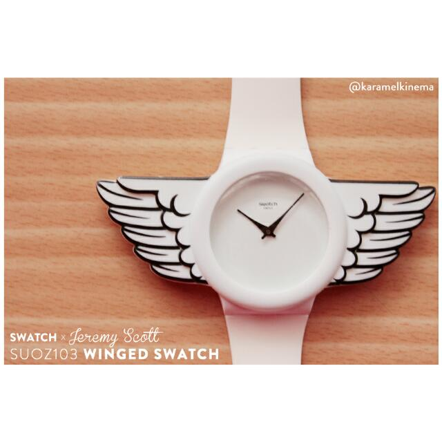 SWATCH by Jeremy Scott - White Wings - Jam Tangan